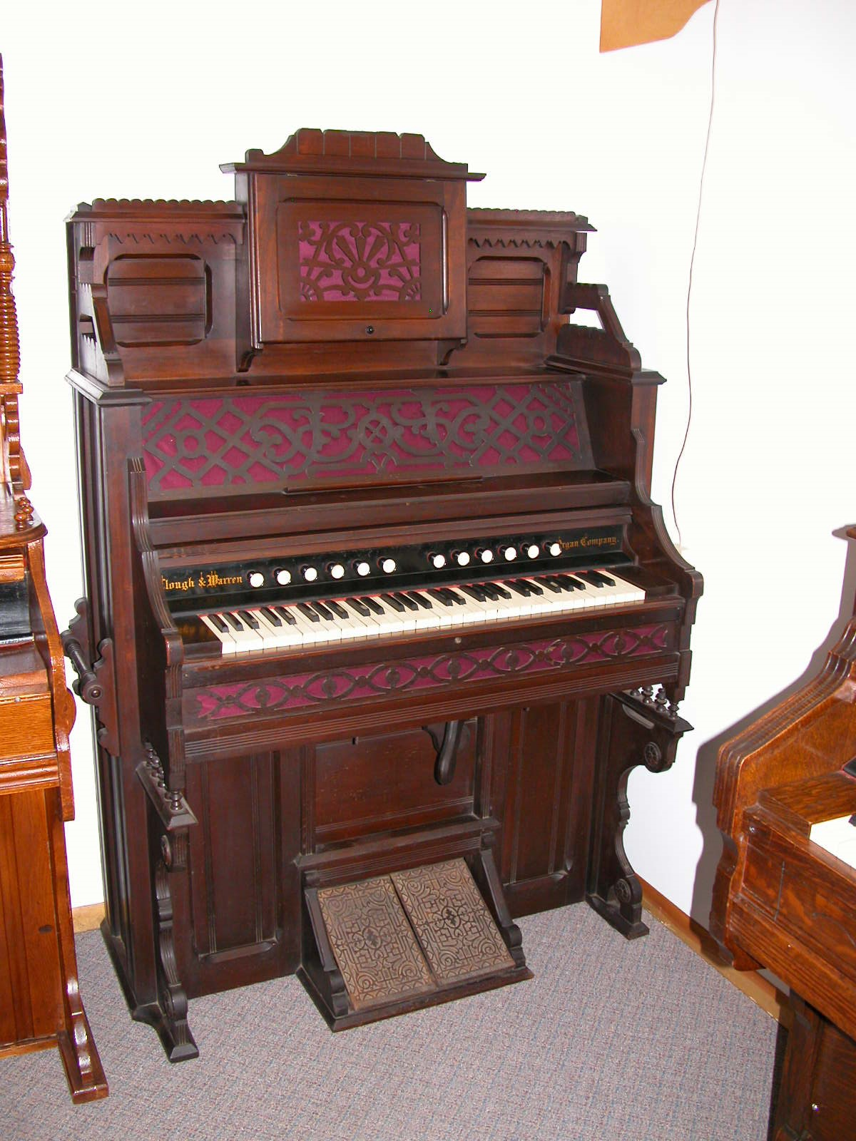 1869 Clough & Warren Organ Co. I.D. No. #22