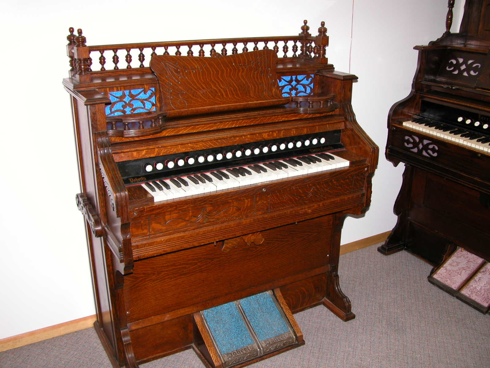 1885 Doherty & Ohewtzeman Organ Co. I. D. No. #21