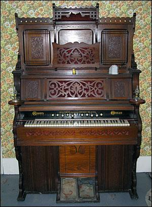 An Antique Reed Organ